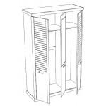 Шкаф 3-х дверный +2 638 р.
