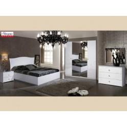 Мебель для спальни «Европа-9» белая